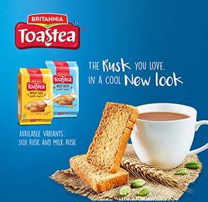 Britannia Tea Packaging Design