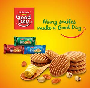 Britannia Good-Day Packaging Design